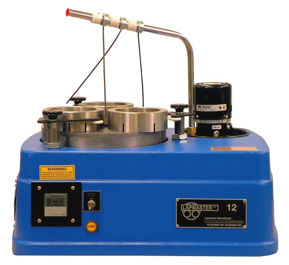 Bench Top Lapping/Polishing Machine - 12