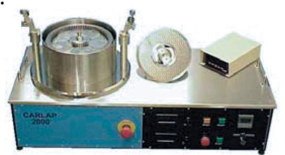Carlap Machines 2000 Series Lap and Polish Semiconductor components